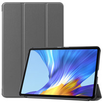 Huawei MatePad 10.4 hoes - Tri-Fold Book Case - Grijs