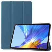 Huawei MatePad 10.4 hoes - Tri-Fold Book Case - Donker Groen