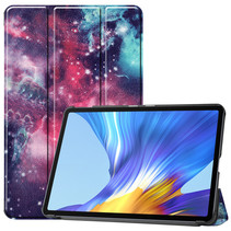 Huawei MatePad 10.4 hoes - Tri-Fold Book Case - Galaxy