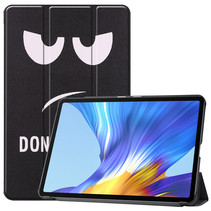 Huawei MatePad 10.4 hoes - Tri-Fold Book Case - Don't Touch Me
