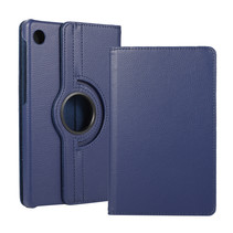 Huawei MatePad T8 hoes - Draaibare Book Case - Donker Blauw