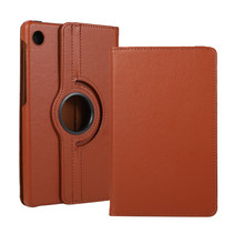 Huawei MatePad T8 hoes - Draaibare Book Case - Bruin