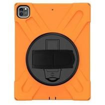 iPad Pro 11 (2018/2020) Cover - Hand Strap Armor Case - Oranje