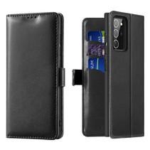 Samsung Galaxy Note 20 Hoesje - Dux Ducis Kado Wallet Case - Zwart