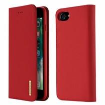 iPhone SE 2020 hoesje - Dux Ducis Wish Wallet Book Case - Rood