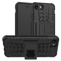 iPhone SE 2020 Hoesje - Schokbestendige Back Cover - Zwart