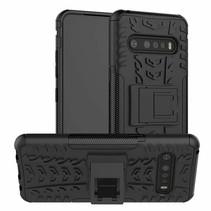 LG V60 ThinQ 5G Hoesje - Schokbestendige Back Cover - Zwart
