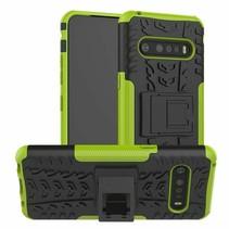 LG V60 ThinQ 5G Hoesje - Schokbestendige Back Cover - Groen