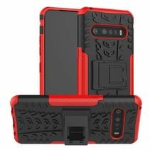 LG V60 ThinQ 5G Hoesje - Schokbestendige Back Cover - Rood
