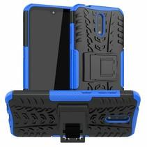 Nokia 2.3 Hoesje - Schokbestendige Back Cover - Donker Blauw