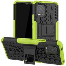 Xiaomi Mi 10 Lite Hoesje - Schokbestendige Back Cover - Groen