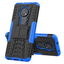 Nokia 7.2 Hoesje - Schokbestendige Back Cover - Blauw