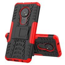 Nokia 7.2 Hoesje - Schokbestendige Back Cover - Rood