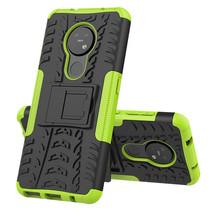 Nokia 7.2 Hoesje - Schokbestendige Back Cover - Groen