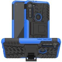 Motorola Moto G8 Power Hoesje - Schokbestendige Back Cover - Blauw