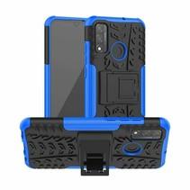 Huawei P Smart (2020) Hoesje - Schokbestendige Back Cover - Blauw