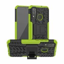 Huawei P Smart (2020) Hoesje - Schokbestendige Back Cover - Groen