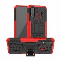Huawei P Smart (2020) Hoesje - Schokbestendige Back Cover - Rood