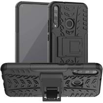 Huawei P40 Lite E Hoesje - Schokbestendige Back Cover - Zwart