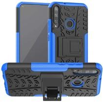 Huawei P40 Lite E Hoesje - Schokbestendige Back Cover - Blauw