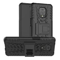 Xiaomi Redmi Note 9S Hoesje - Schokbestendige Back Cover - Zwart