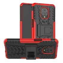 Xiaomi Redmi Note 9S Hoesje - Schokbestendige Back Cover - Rood