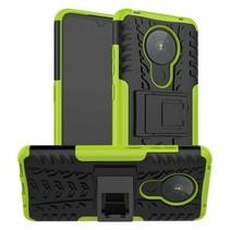Nokia 5.3 Hoesje - Schokbestendige Back Cover - Groen