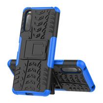 Sony Xperia 10 II Hoesje - Schokbestendige Back Cover - Blauw
