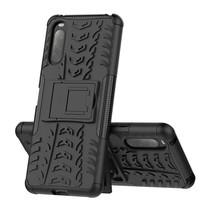 Sony Xperia 1 II Hoesje - Schokbestendige Back Cover - Zwart