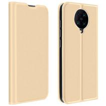 Xiaomi Poco F2 Pro Hoesje - Dux Ducis Skin Pro Book Case - Goud