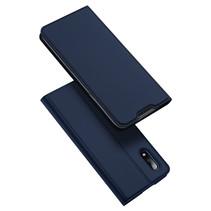 Samsung Galaxy M01 Hoesje - Dux Ducis Skin Pro Book Case - Blauw