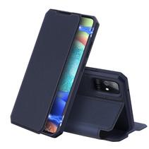 Samsung Galaxy A71 5G hoesje - Dux Ducis Skin X Case - Donker Blauw