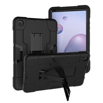 Samsung Galaxy Tab A 8.4 (2020) Hoes - Schokbestendige Back Cover - Hybrid Armor Case - Zwart
