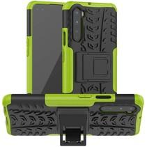 OnePlus Nord Hoesje - Schokbestendige Back Cover - Groen