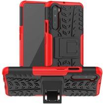 OnePlus Nord Hoesje - Schokbestendige Back Cover - Rood