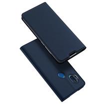 Motorola One Hyper hoesje - Dux Ducis Skin Pro Book Case - Donker Blauw
