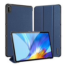 Huawei MatePad 10.4 hoes - Dux Ducis Domo Book Case - Blauw