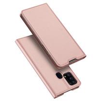 Samsung Galaxy M31 Hoesje - Dux Ducis Skin Pro Book Case - Roze