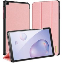 Samsung Galaxy Tab A 8.4 hoes (2020) - Dux Ducis Domo Book Case - Roze