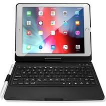 iPad 10.2 (2019/2020) Case - Bluetooth toetsenbord hoes - QWERTY layout - Magneetsluiting - Sleep/Wake-up functie - Zwart
