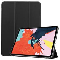 iPad Air 2020 hoes - 10.9 Inch - Tri fold Book Case - Zwart