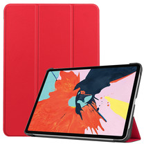 iPad Air 2020 hoes - 10.9 Inch - Tri fold Book Case - Rood