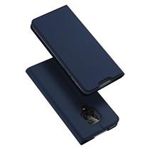 Xiaomi Redmi Note 9 Pro hoesje - Dux Ducis Skin Pro Book Case - Donker Blauw