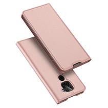 Xiaomi Redmi Note 9 hoesje - Dux Ducis Skin Pro Book Case - Roze