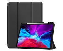 iPad Air 2020 Hoes - 10.9 inch - Tri-Fold Book Case met Apple Pencil Houder - Zwart