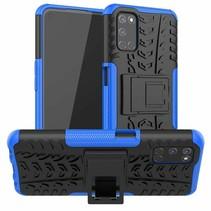 Oppo A52 Hoesje - Schokbestendige Back Cover - Blauw