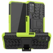 Oppo A52 Hoesje - Schokbestendige Back Cover - Groen