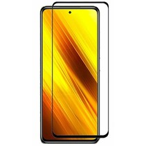 Xiaomi Poco X3 Screenprotector - Full Cover Screenprotector - Zwart