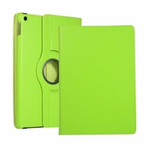 iPad 2020 Hoes - 10.2 Inch -  Draaibare Book Case - Groen