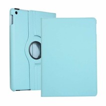 iPad 2020 Hoes - 10.2 Inch -  Draaibare Book Case - Licht Blauw